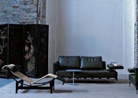 Presentada en el Salón de Otoño de 1929, la chaise longue original LC4 es obra de Le Corbusier, Pierre Jeanneret y Charlotte Perriand y fabricada por Cassina con exclusividad de derechos hasta el 2069. Foto gentileza de Cassina.