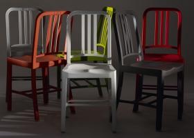 En colaboración conjunta con Coca-Cola, el resultado de la silla modelo 111 Navy es increíble, siendo el primer artículo estructural producido usando rPET. Un diseño clásico resuelve un nuevo material usando desechos: 111 botellas plásticas!