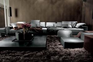 """Sofá """"You and Me"""", máximo estilo y confort, diseño de Ivano Redaelli y Ennio Arosio para Ivano Redaelli. Foto gentileza de Ivano Redaelli."""